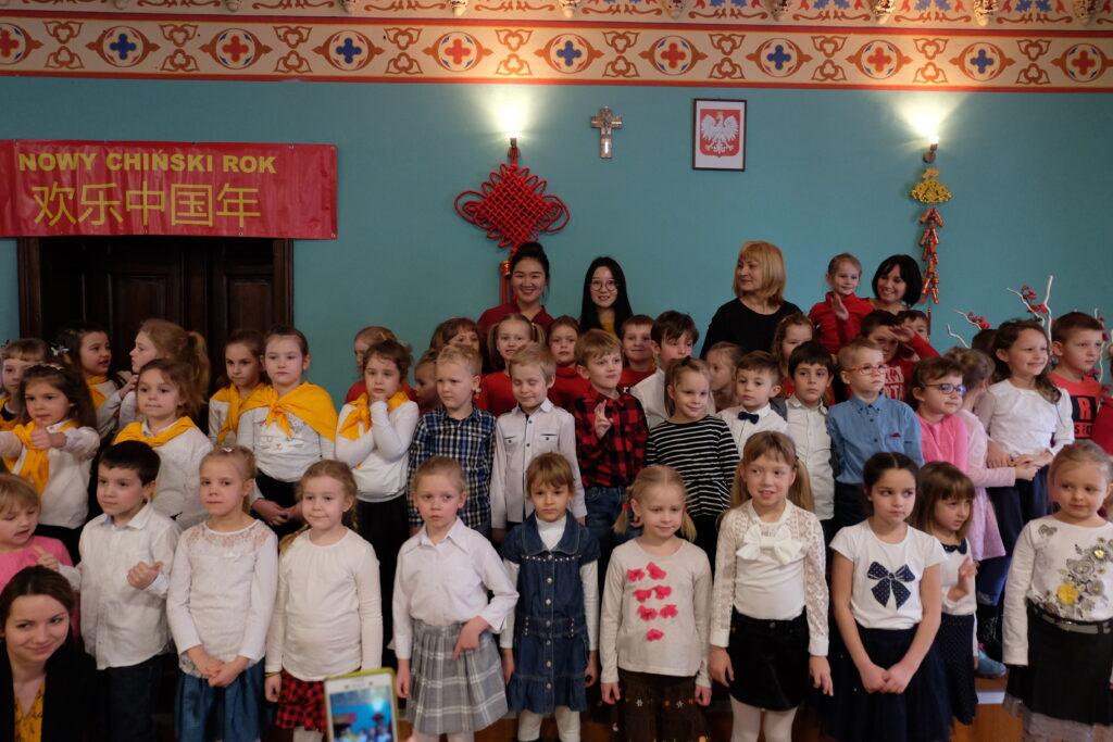 Dzieci z toruńskich przedszkoli