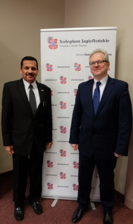 Spotkanie z Ambasadorem Zjednoczonych Emiratów Arabskich